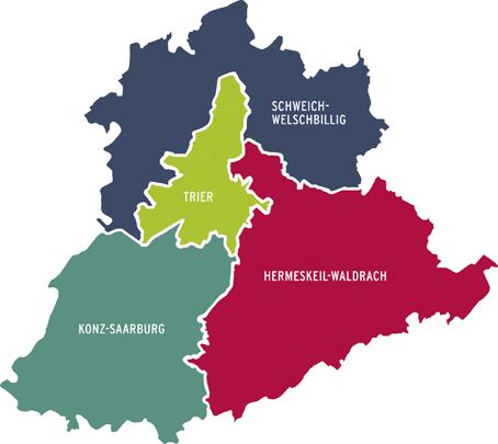 Bistum Trier Karte.Bistum Jugend Zuständigkeitsgebiet